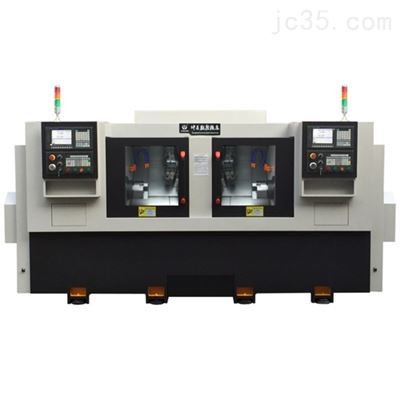 HS360带机械手双主轴数控车床