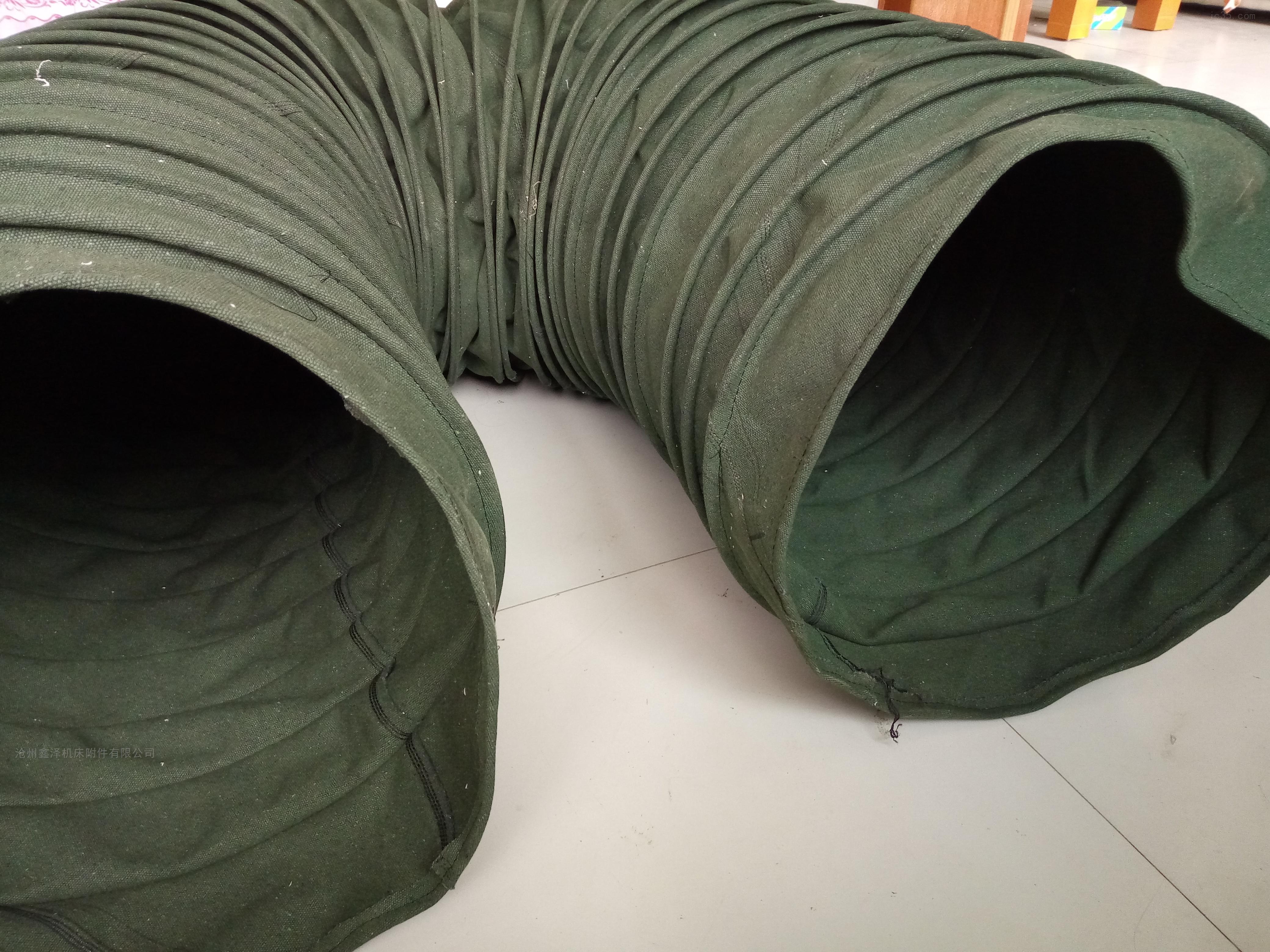颗粒输送挂胶帆布软连接