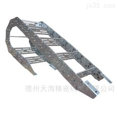定做低噪音橋式鋼制工程拖鏈