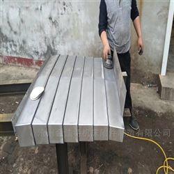 全部供应钢板机床导轨式防护罩,钢板防尘罩