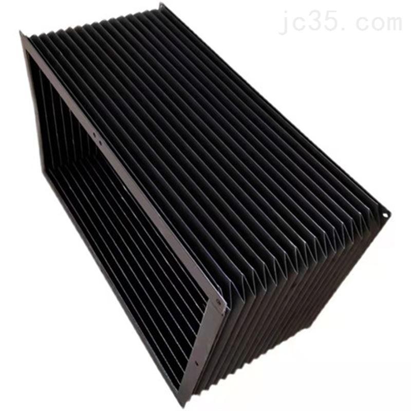一字型帘缝制防火阻燃激光导轨伸缩式防护罩