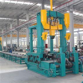 KR-PHJ 0818拼焊矫一体机 钢结构型钢一次线设备
